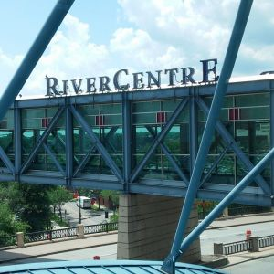 RiverCentre was the perfect location for the MNSearch Summit. Heidi and Jodi enjoyed the speakers and the amazing venue.